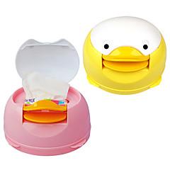 automati dispenser caixa de tecido duckc guardanapo manual em papel bonito (cor aleatória)