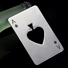 kreativ rustfrit stål poker oplukker