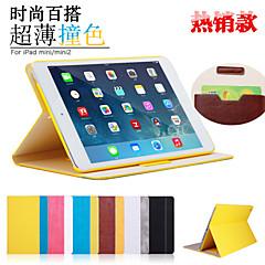 LENTION Auto Sleep/Wake Mix Color Fashion PU Leather Case with Folding Stand for Ipad Mini 1/2/3