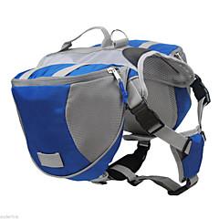 zaino borsa zaino borsa da sella cane a sgancio rapido borsa zaino per cani all'aperto campeggio trekking vettore pet training -grande