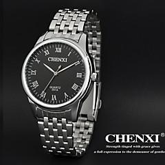 la robe des hommes chenxi® regarder design classique bracelet en acier d'argent