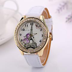 nieuwe mode vrouwen zich te kleden horloge vintage quartz analoog horloge nieuwe armband quartz lederen polshorloge xr1218