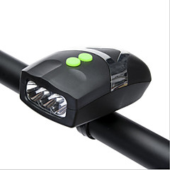 luces de extremo de barra/Bike Campanas (Negro , ABS) - Impermeable/alarma/Ajustable/Luz LED