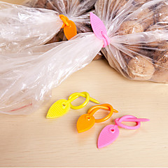 Silica Gel Leaves Shaped Sealing Belt(5 PCS Random Color)
