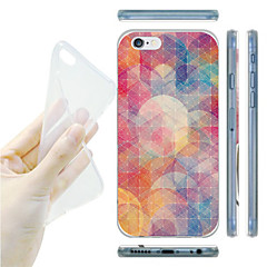 For iPhone 6 Case / iPhone 6 Plus Case Ultra-thin / Pattern Case Back Cover Case Color Gradient Soft TPUiPhone 6s Plus/6 Plus / iPhone