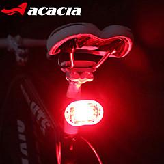 Luci bici , Luci di coda / luci di sicurezza / Luci bici - 3 Modo # Lumens Facile da trasportare Batteria a bottone Batteria