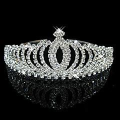 Kobiety Rhinestone Kryształ Winieta-Ślub Piękny Tiary