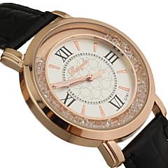 Women's Circular Rolling Beads Quartz Wrist Watch Cool Watches Unique Watches
