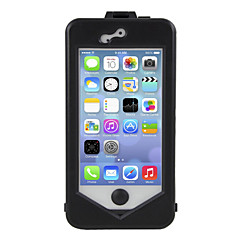 Adjustable 360 ° Degree Rotating Clamp Shockproof + Weatherproof + dustproof Case for iPhone 5/5S
