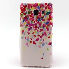 Varten Samsung Galaxy kotelo Kuvio Etui Takakuori Etui Liukuvärjätty TPU Samsung A5 / A3