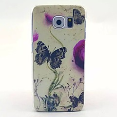 Schmetterling Muster PC-Material-Telefonkasten für Galaxie S6 / S6 Galaxie Rand / Galaxie S3 / galaxy s5mini