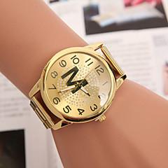 Women's Fashion Optical Version Of quartz Swiss Alloy Steel Belt Watch