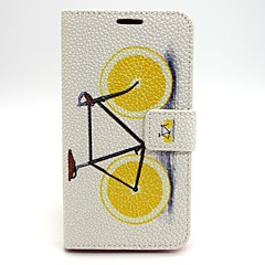 Bicycle Pattern PU Leather Material Card Full Body Case for Samsung Galaxy  S6 edge S6 S3 S4 S5 S3Mini S4Mini S5Mini