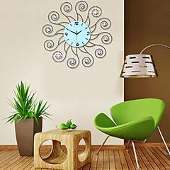 Fashionable Modern Creative  Diamond Iron Wall Clock