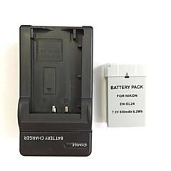 니콘 1 J5 미국은 8.4V의 DC KO-el24 충전기 1 (개) 카메라 배터리 팩