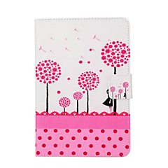 Painted Pink Dandelion Stand Tablet PC Case for Ipad mini1/2/3