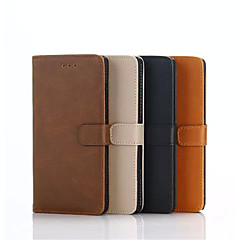 Crazy Horse Leather Case with Card Slot for Blackberry Leap  Assorted Colors