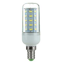4W E14 LED-lampa Roterbar 36 SMD 5730 360 lm Kallvit AC 220-240 V 1 st