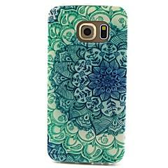sininen ja valkoinen kuvio TPU materiaali puhelin kotelo Samsung Galaxy S3 S4 S5 S6 s3mini s4mini s5mini s6 reuna