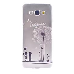 Voor Samsung Galaxy hoesje Hoesje cover Patroon Achterkantje hoesje Paardebloem TPU voor Samsung Galaxy A8 A7 A5 A3