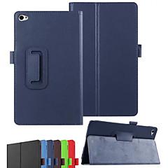 dengpin pu textura litchi cuero con cubierta del soporte caja de la piel para Huawei MediaPad m2 m2-801w / 803L (colores surtidos)