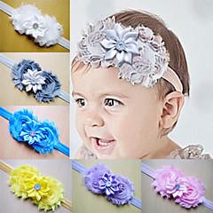 Feest/Dagelijks/Causaal - Haarbanden (Stof , Ivoor/Wit/Geel/Blauw/Groen/Paars/Grijs/Roze)