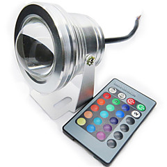 HRY® 10W 850-950LM RGB LED Underwater Light Lamp for Landscape Fountain Pond Lighting (12V)