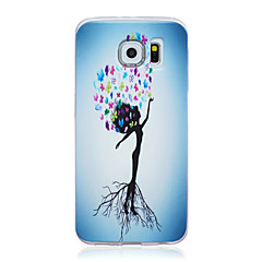 Flower Tree TPU Soft Back Case for Samsung Galaxy S6/s6 edge/S4/S5/S3 mini/S4 mini/S3