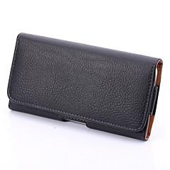 pu lichia grão couro caso despedaça-resistente pendurar uma bolsa para Samsung Galaxy nota 2 / nota 3 / nota 4 / nota 5 / nota 5 borda