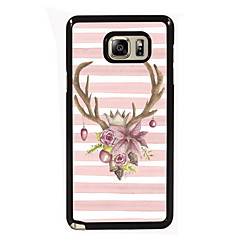 Voor Samsung Galaxy Note Hoesje cover Patroon Achterkantje hoesje Kerstmis PC voor Samsung Note 5 Edge Note 5 Note 4 Note 3