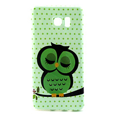Owl  Pattern TPU Soft Case for Galaxy Note 5