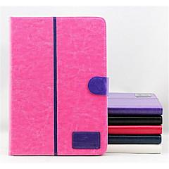 caso plegable híbrido inteligente pu estuche de cuero flip soporte de la cubierta de libro billetera foripad 2/3/4 (color clasificado)