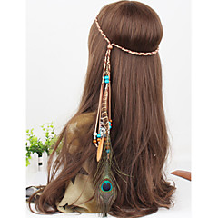 Boho, Gypsy, Coachella, Belly, Dance, Music, Festival, Headress, Hair, Acesessories, Wedding, Bohemian Feather HeadBand
