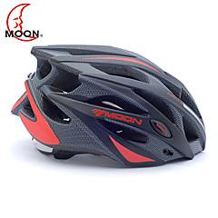 MOON Pyöräily musta ja punainen PC / EPS 21 Venttiilit suojaava Ride Kypärä