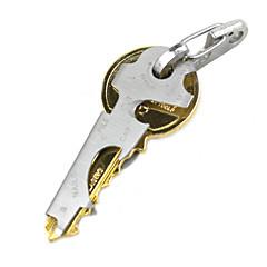 rustfrit stål multifunktions nøgle stil oplukker værktøj