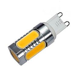1 pcs G9 10 W 5 COB 900 LM Warm White / Cool White LED Corn Bulbs AC 220-240 V