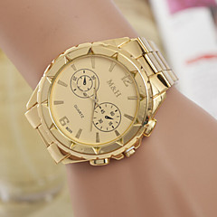 Men's  Watch Quartz Swiss Alloy Fashion Three Gold Watch