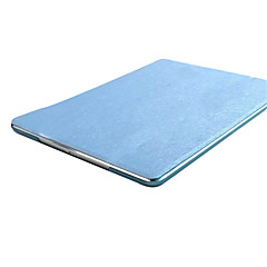Solid Color Ultra Slim PU Silk Print Translucent Leather Case for iPad 2/3/4 (Assorted Colors)