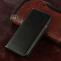 retro skórzana klapką Gniazdo karty okładka portfela przypadku stand for iPhone 6s 6 plus