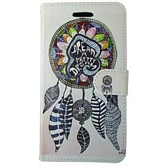 Mert Nokia tok Pénztárca / Kártyatartó / Állvánnyal Case Teljes védelem Case Álomvadász Kemény Műbőr Nokia Nokia Lumia 640