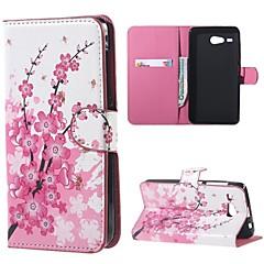 para acer Z520 líquidos cobrir zebra couro pele caso estande carteira aleta para Acer Z520 líquido casos de telefone móvel