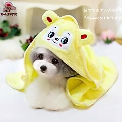 divertimento di Pets® stile simpatici animali buon assorbimento asciugamano per cani e gatti (colori assortiti)