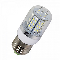 YWXLIGHT® 1pcs E14/E26/E27 5W 48SMD 3014 450LM Warm/Cool White  AC/DC 10-14V