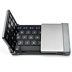 Old Shark™  Foldable Bluetooth Keyboard Ultra-slim Pocket Wireless Keyboard for iOS Android Windows PC Tablet Smartphone