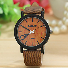 Men's  Watch  The Original PU FEIFAN Extraordinary Wood Cortex Neutral Table