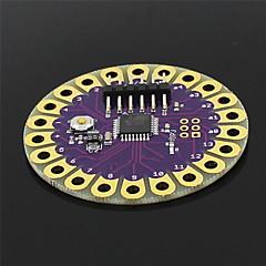 lilypad ATmega328P conseil de développement portable pour Arduino - violet + or