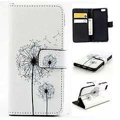 Voor iPhone 6 hoesje / iPhone 6 Plus hoesje Portemonnee / Kaarthouder / met standaard / Flip / Patroon hoesje Volledige behuizing hoesje