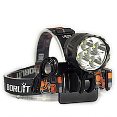 Lanternas de Cabeça Luzes de Bicicleta LED 7000 Lumens 3 Modo Cree XM-L T6 18650.0 Resistente ao Impacto Recarregável Impermeável