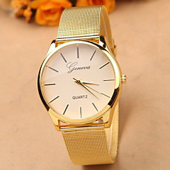 Gold Watch Full Stainless Steel Woman Fashion Dress Watches New Brand Name Geneva Quartz Watch Best Quality Cool Watches Unique Watches