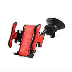 Car Width Adjustable 360 Degree Rotation Dual Outlet Sucker Phone Holder Navigation Cradle